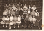 Slater Third Grade (courtesy Pam Linn). Back row:  Kathy Swanson, Mary (Chader) Reagh, Roger Torgerson, Joetta (Geer) Jo