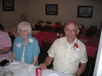 Guests of Honor: Jim and Dolores Douglas of Huxley.  Dolores was Junior High School secretary.