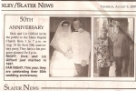 Elizabeth and Richard Gifford on their wedding anniversary