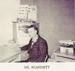 Gaylord Scandrett, Auto Mechanics and Industrial Arts