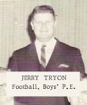 Jerry Tryon, football, boys' P.E.