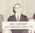 Jerry Kindhart, Girls' Basketball