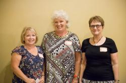 Reunion Committee Leaders: Pam Birdsall Linn, Krista Meyer Bowersox, and Joetta Geer Johnson